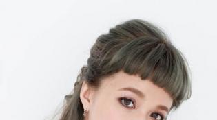 职场小资女甜美公主头 简单三个步骤让你中长髮也很有型