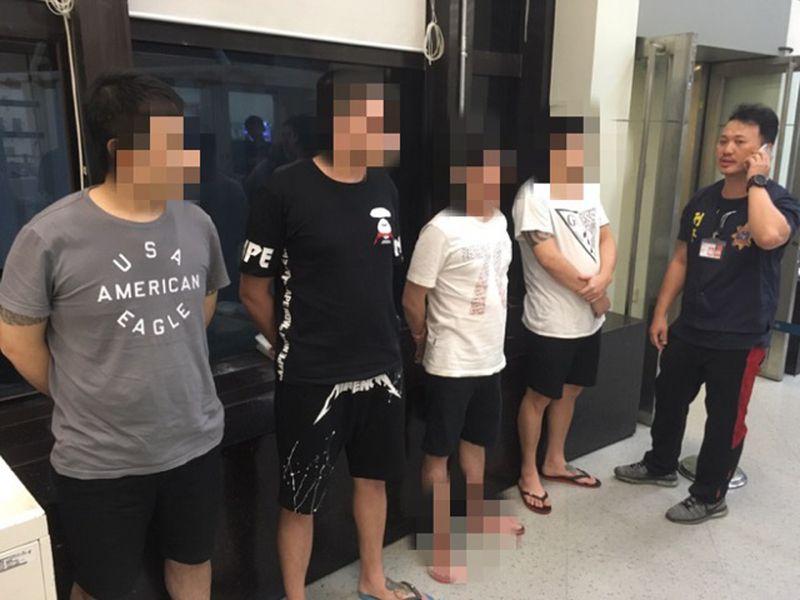 印尼遣返4台嫌 诈欺罪嫌重大收押(1) (图).