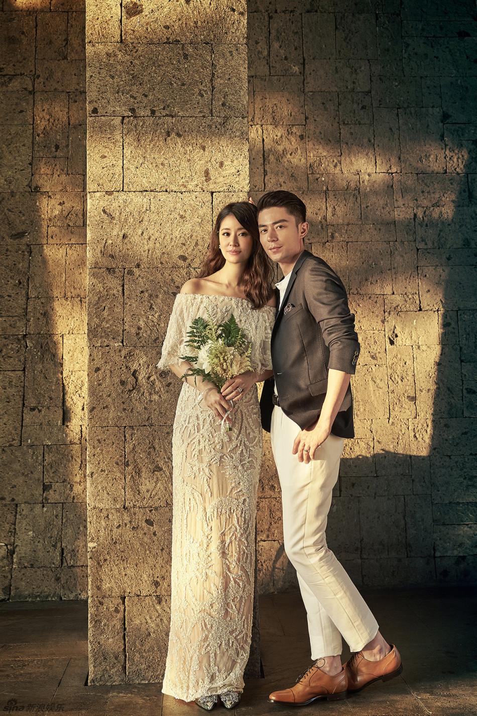 霍茹浪漫而秘密的婚礼成为了大家的热门话题