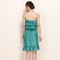荷叶边连衣裙如何搭配 这样搭配起来超美