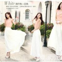 夏季时尚雪纺长裙穿搭方式 轻松打造唯美女神范儿