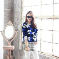 针织衫要怎么搭配 韩国街头最流行的搭配方式