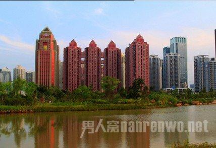 深圳四大邪地之一中银大厦