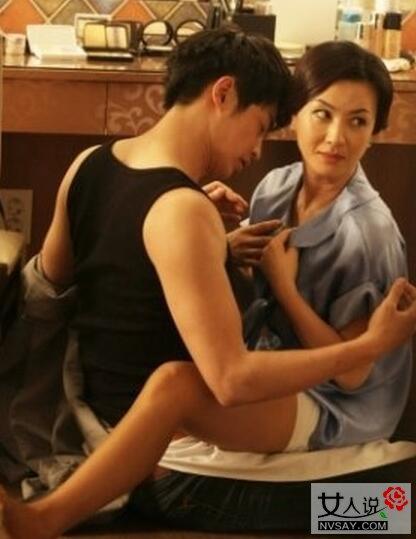 金惠善与老公拍摄大尺度床上戏电影 照片截图也能看得脸红心跳