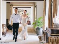 陈紫函戴向宇婚礼古堡大揭秘 为韩剧《蓝色大海》取景地