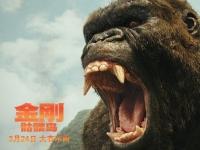 """《金刚:骷髅岛》加强版预告发布 """"抖森""""带队上岛遭受巨怪攻击"""