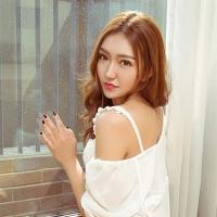 尤果网短发中国气质美女Amy倩高清养眼图片