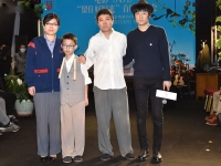 金马获奖片《八月》首映 张大磊期望观众用心去看