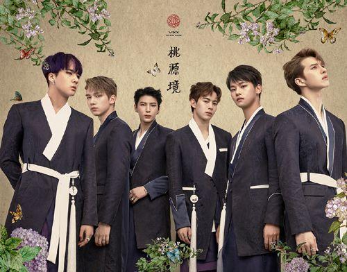 大势男团VIXX推出迷你专辑挑战东方奇幻『桃源境』化身超现实花美男