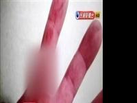 狂奔50米持刀划伤警 通缉犯被逮求饶