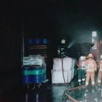林口铁皮屋火警 疑遥控飞机坠落引起