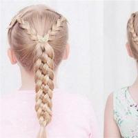 小女孩编发教程图解 美编教你如何编漂亮小公主发型