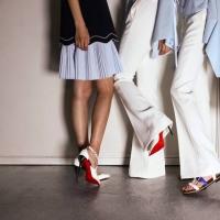 中国名模面子大 「红底鞋」为她设计5款鞋