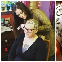 【光头也可以很美】美国艺术家免费为癌症患者Henna纹身!