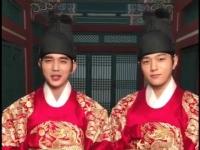 【君主】俞承豪L@INFINITE齐着龙袍互换身份 金所炫古装气质满分